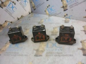 Acushnet Type 1994 15000 Mfd 7000 A Mica Capacitor Lot Of 3