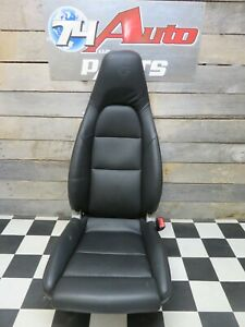 2012 Porsche 911 991 Carrera Right Passenger Front Seat Black Leather Sport