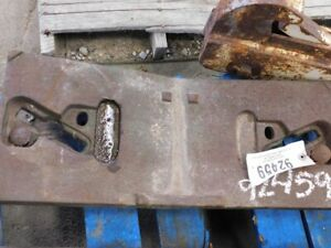 John Deere 10 20 Series Tractor Front Slab Weight Tag 92459