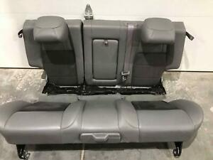 2006 Jeep Grand Cherokee Srt8 Rear Seats Oem Leather Gray Good Condition