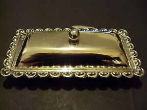 Sterling Silver Covered Butter Dish