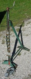 Vintage Bumper Jack Weaver Service Station Model Wa 27 With Extra Cable Hook