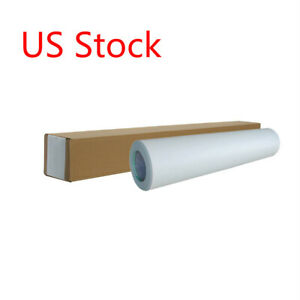 Us Stock 60 X 50yd Roll Glossy Cold Laminating Film monomeric 3 15 Mil