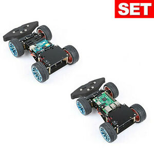 4wd Rc Smart Car Chassis S3003 Metal Servo Bearing For Arduino Robot Platform