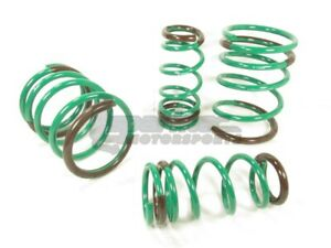Tein S tech Lowering Springs Kit 05 06 Acura Rsx Base Type s Dc5 Skb04 aub00 New
