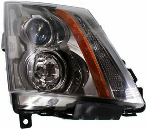 Headlight For 2008 2015 Cadillac Cts Passenger Side W Bulb