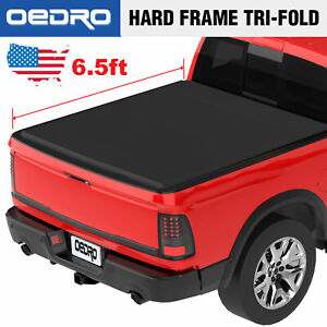 Soft Tri Fold Truck Tonneau Cover Fit For 2002 2019 Dodge Ram 1500 6 5 Bed
