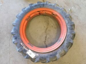 8 24 Farm Tractor Tire On Allis Chalmers Tractor Rim Tag 585