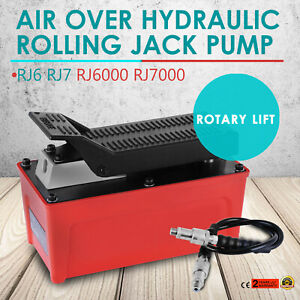 Oem Rolling Jack Pump Air Over Hydraulic Pump Rotary Lift Aluminum Alloy
