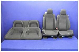2015 2017 Ford Mustang Gt Cloth Coupe Oem Front Rear Seats Hot Rod Restomod
