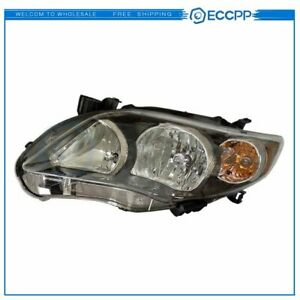 Left 20 9196 90 To2502204 Headlight Lamp For 2011 13 Toyota Corolla