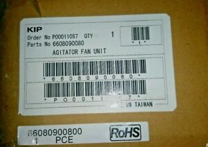 Kip 2000 Agitator Fan Unit 66080900800 1 Piece Rohs Oem