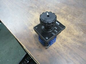 Kraus Naimer All Rotary Switch L95137 Used