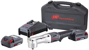 Ingersoll Rand W5330 k22 Right Angle Impactool Kit With 2 Batteries Charger