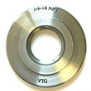3 8 18 Npt Basic L1 Threaded Ring Gage Usa Vermont 4411005510