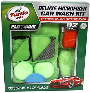 Turtle Wax Deluxe Microfiber Car Wash Kit