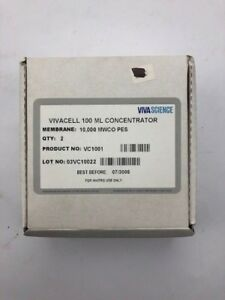 Vivacell 100 Ml 10k Mwco Pes Sample Concentrators Vc1001 l062