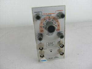 Tektronix Pg501 Pulse Generator Plug in Module