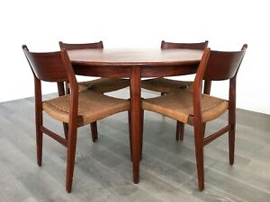Mid Century Modern Danish Rosewood Dining Set Made In Denmark 1950 S 1960 S
