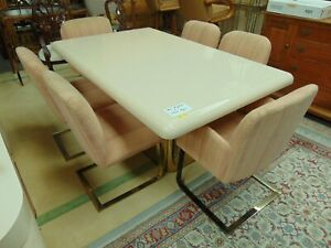 Milo Baughman For Thayer Coggin Dining Table With 6 Chairs Mid Century Modern