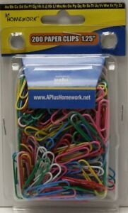 Vinyl Paper Clips Assorted Colors Case Of 48