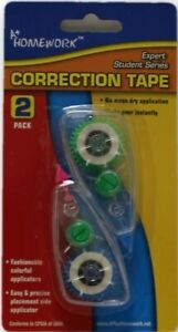 Correction Tape 2 Pack Case Of 48
