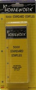 Staples Standard Size 26 5000 Boxed Case Of 48
