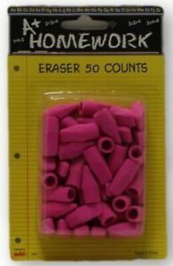 Erasers Cap Pink 50 Pack Case Of 48