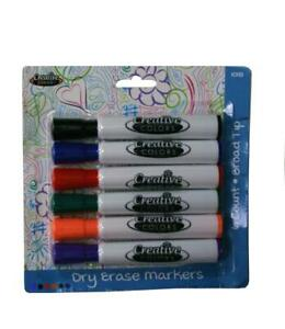 Dry Erase Markers 6 Ct Case Of 48