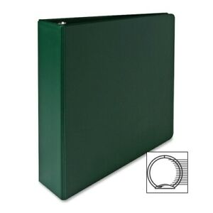 Sparco Products 3 ring Binder 2 Capacity 11 x8 1 2 Green Case Of 8