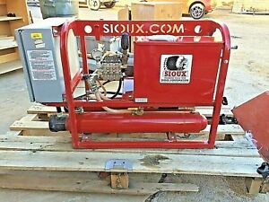 Sioux Corp E3hs3000 Hot Water Pressure Washer 3000 Mawp 380 Volt