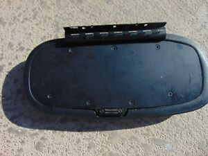 99 04 Ford Mustang Center Console Top Lid Armrest Black W Magnet