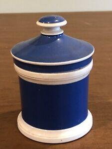 Antique Porcelain Pharmacy Apothecary Jar Drug Container Wedgewood