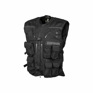 SCORPION Covert Tactical Vest BLACK FREE SHIPPING