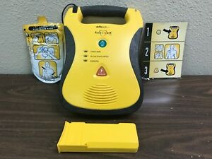 Defibtech Reviver Lifeline Semi automatic Aed Biomed Certified W Pads
