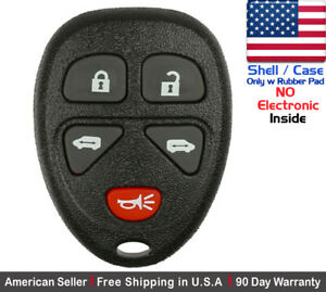 1x New Replacement Keyless Entry Remote Key Fob For Gm Kobgt04a 15788020 Shell
