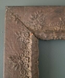 Antique Victorian Picture Frame Aesthetic Movement Wood Gesso 16 1 4 X 20 1 4