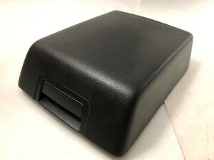 04 08 Ford F150 Center Console Cover Lid Armrest Arm Rest Black