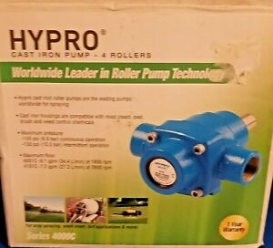 Hypro Series 4000c 4101c Cast Iron 4 roller Pump Max 7 2 Gpm New In Box