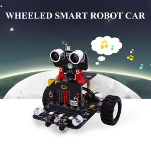 Yahboom 3 in 1 Programable Wheeled Smart Robot Car Diy Kit App Remote Control Us