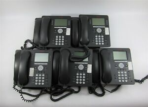 Lot Of 11 Avaya 9608 Ip Business Phones Voip Office Telephone System