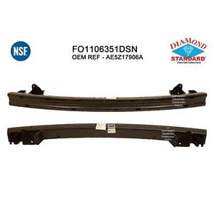 Fits 2010 2012 Ford Fusion Rear Bumper Cover Reinforcement 191 1011 Nsf