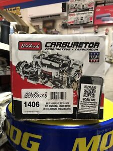 Carburetor Performer Series Edelbrock 1406 Brand New In Box