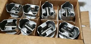 L2242f Trw Forged Pistons 030 Non Coated Skirts 396 Chevy