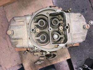 Used Holley 4150 List 9381 Carb 830cfm Dp No Choke 1 11 16 Throttle Plates