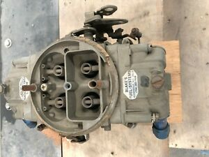 Used Holley 4150 Carb 390 Cfm Dp No Choke 1 7 16 Throttle Plates