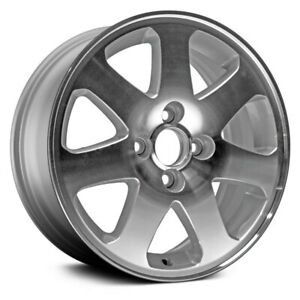For Honda Civic 1999 2000 Dorman 15x6 7 Spoke Silver Alloy Wheel