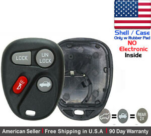 1x New Replacement Keyless Remote Key Fob For Buick Chevy Pontiac Shell Case