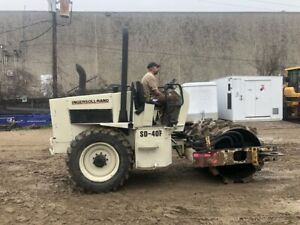 1998 Ingersoll Rand Sd40f Vibratory Padfoot Roller Compactor Walk Around Video