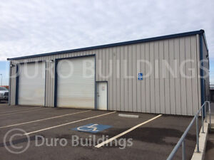 Durobeam Steel 30x60x14 Metal I beam Garage Prefab Barn Workshop Building Direct